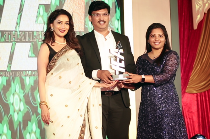 FTIH bags International Excellence Award 2018 for Best Media Courses in Hyderabad at Thailand