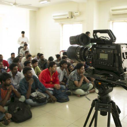URSA Mini Pro & Davinci Resolve 15 Workshop at best Film School in South India, FTIH Film School