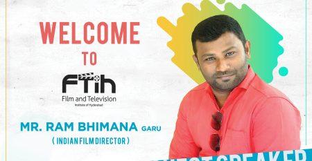Workshop on Film making by Director Mr. Ram Bhimana