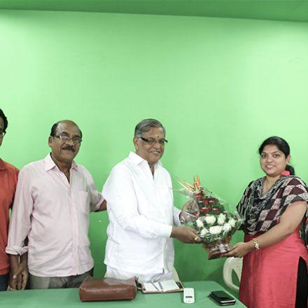 Mr. Davala Satyam Garu , an Indian film director @ FTIH Best Film School