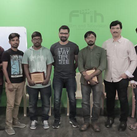 Guest workshop by Mr. Lakshman Karya Garu & Mr Balareddy Garu @ FTIH Best acting Film School
