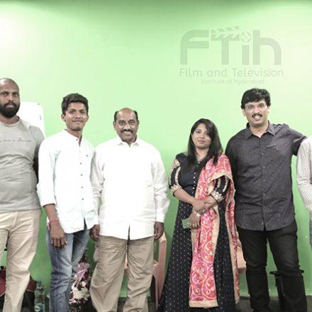 Guest workshop by Mr.Tummalapalli Rama Satyanarayana Garu @ FTIH Best Sounth Indian Film School