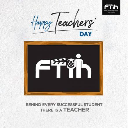 Teacher's Day Celebrations @ FTIH Film School