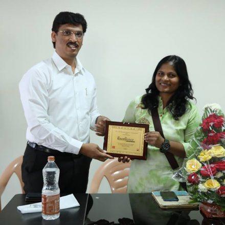 Acting workshop by Mrs. Sasikiran Narayana Garu