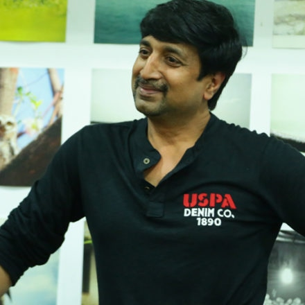 Actor LOHITH discussed about acting techniques with FTIH students