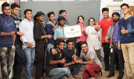 FTIH received Best Institute for Acting & Media courses in Hyderabad from Pride of Indian Education award – 2016