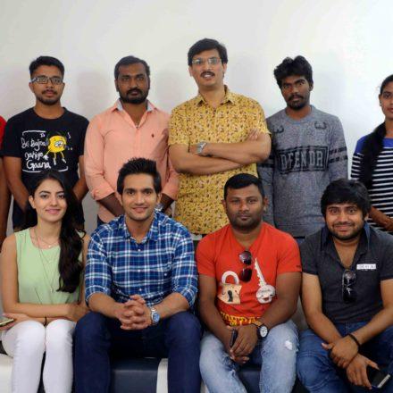 """""""Aakatayi"""" movie team visits FTIH Film School"""