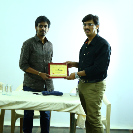 Workshop on Film making by Sankalp reddy (Ghazi director)