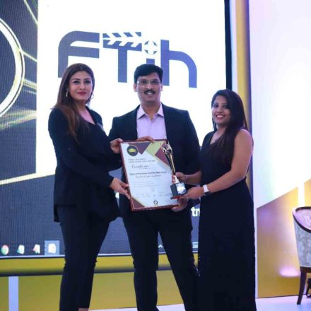 FTIH Won BEST FILM SCHOOL IN SOUTH INDIA 2018