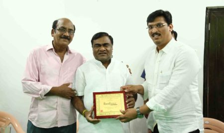 Actor Babu Mohan Garu At Best Filmmaking Institute in Hyderabad, FTIH Film School
