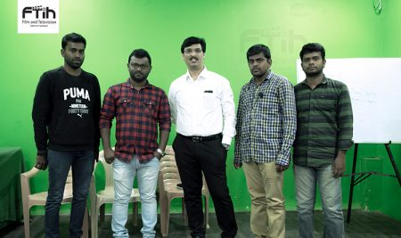 Director Mr. Ram Bhimana at Best Film School South India, FTIH Film School