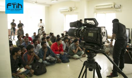 URSA Mini Pro & Davinci Resolve 15 Workshop at best Film School in South India, FTIH Film School