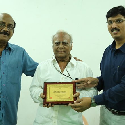 Actor & Dubbing Artist Mr. Krishna Swamy A.S.G Garu at Best Film School South India, FTIH Film School