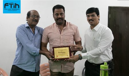 Actor Mr. Raja Ravindra Garu at best Film School in South India, FTIH Film School