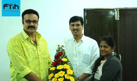 Actor Mr. Rajender Kumar Garu at best Film School South India, FTIH Film School