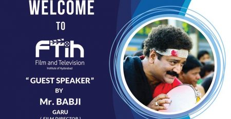 Workshop Event By Director Babji Garu, Film Director