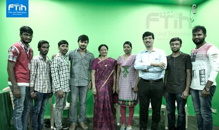 Acting workshop by Mrs. Adiraju Radha & Mr. Aumkar Kotamaraju at FTIH Film School