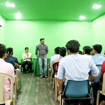 Director Workshop with Mr. Naveen Medaram Garu @ FTIH Film School