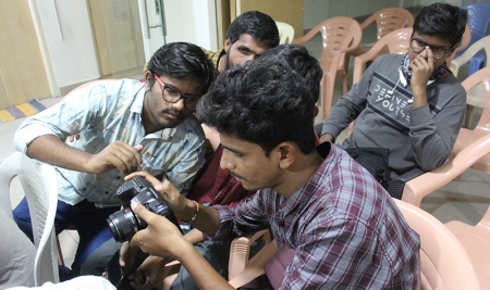 BLACK MAGIC Packet Cinema CAMERA 4K Workshop @ FTIH Film School