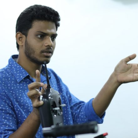 DJI Ronin Workshop was successfully conducted @ FTIH main campus by Venkat Shiva Mutyala